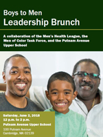 Cambridge Boys to Men Leadership Brunch 2018 flyer